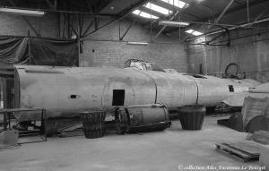 Lanc 1993 Redressement du fuselage arriére et travaux sur l'avant 01