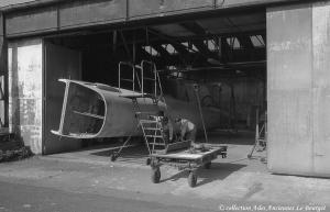 Lanc 1993 Redressement du fuselage arriére et travaux sur l'avant 02