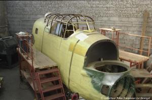 Lanc 1993 Redressement du fuselage arriére et travaux sur l'avant 03