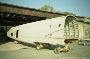 Lanc 1996 travaux sur le fuselage 001